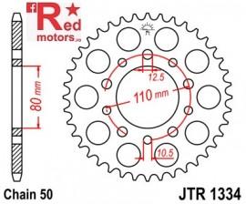 Foaie/pinion spate JTR1334.43 530 cu 43 de dinti pentru Honda CB 450, 750, 900, 1000, 1100, CBR 600