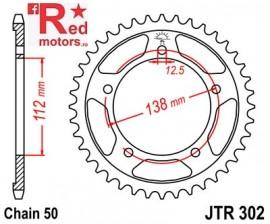 Foaie/pinion spate JTR302.42 530 cu 42 de dinti pentru Honda CB 900, CB 1100, CB 1300, CBF 1000