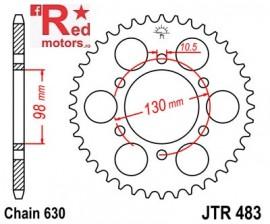 Foaie/pinion spate JTR483.35 630 cu 35 de dinti pentru Kawasaki Z 900