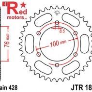 Foaie/pinion spate JTR1844.42 428 cu 42 de dinti