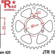 Foaie/pinion spate JTR1077.47 420 cu 47 de dinti pentru Rieju NKD 50 Naked, Rieju RS-2 50 Matrix