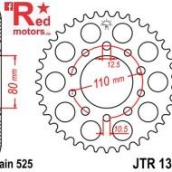 Foaie/pinion spate JTR1332.43 525 cu 43 de dinti pentru Honda CB 450, CB 500