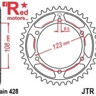 Foaie/pinion spate JTR25.60 60T cu 60 de dinti pentru Aprilia RS4 125