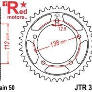 Foaie/pinion spate JTR302.43 530 cu 43 de dinti pentru Honda CB 900, CB 1100, CB 1300, CBF 1000