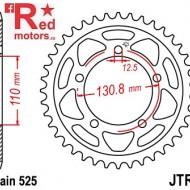 Foaie/pinion spate JTR7.44 525 cu 44 de dinti pentru BMW S 1000