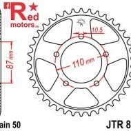 Foaie/pinion spate JTR829.43 530 cu 43 de dinti pentru Suzuki GSF 600