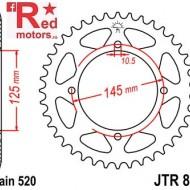 Foaie/pinion spate JTR857.47 520 cu 47 de dinti pentru Yamaha TT 600, XT 550, XT 600