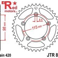 Foaie/pinion spate JTR894.48 420 cu 48 de dinti pentru KTM SX 65