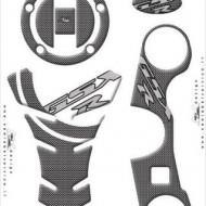 Kit protectii jug, buson rezervor, tank pad Suzuki GSXR