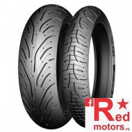 Set anvelope/cauciucuri moto Michelin Pilot Road 4 GT 120/70 R17 58W + 180/55 R17 73W