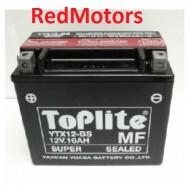 Baterie/acumulator motocicleta Toplite YTX12-BS