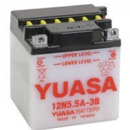 Acumulator moto TOPLITE YUASA - 12N5,5A-3B (CU INTR., NU INCL. ACID)