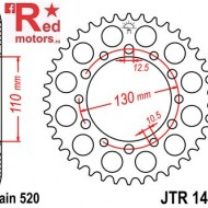 Foaie/pinion spate JTR1486.42 520 cu 42 de dinti pentru Kawasaki EL 252, ER 500, GPZ 500