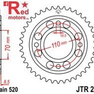 Foaie/pinion spate JTR247.35 520 cu 35 de dinti Honda CB 250, CB 400