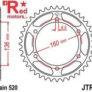 Foaie/pinion spate JTR5.45 520 cu 45 de dinti pentru Aprilia Moto 650, Pegaso 650