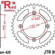 Foaie/pinion spate JTR895.46 428 cu 46 de dinti pentru Husqvarna TC 85, KTM SX 85