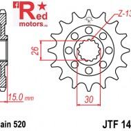 Pinion fata JTF 1404 cu 17 dinti