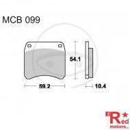 Placute frana fata STD TRW ALTN 59.2x54.1x10.4 MCB099 pentru Triumph T140 750, T150, TR7