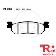 Placute frana spate STD EBC ALTN 99.77x30.2x9 FA275 pentru Yamaha TW 125 H Trailway, 200, YZF-R1 1000, YZF-R6 600 N