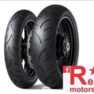 Set anvelope/cauciucuri moto Dunlop Qualifier II 130/70 R16 61W + 180/55 R17 73W