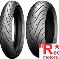 Set anvelope/cauciucuri moto Michelin Pilot Road 3 120/70 R17 58W + 160/60 R18 70W