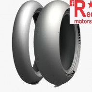 Set anvelope/cauciucuri moto Michelin Power SLICK 2 120/70ZR17 58W + 190/55ZR17 75W