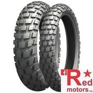 Set anvelope/cauciucuri moto Michelin Anakee Wild 110/80 R19 + 150/70 R17