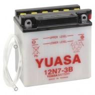Acumulator moto TOPLITE YUASA - 12N7-3B (CU INTR., NU INCL. ACID)