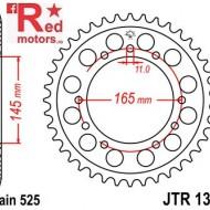 Foaie/pinion spate JTR1311.44 525 cu 44 de dinti pentru Honda NT 400, NT 650