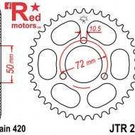 Foaie/pinion spate JTR216.41 420 cu 41 de dinti pentru Honda NSR 50