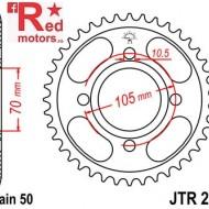 Foaie/pinion spate JTR278.38 530 cu 38 de dinti pentru Honda CB 250, CB 350, CB 400