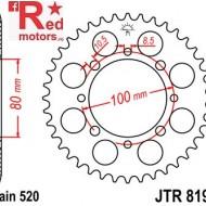 Foaie/pinion spate JTR819/2.41 520 cu 41 de dinti pentru Suzuki GN 250