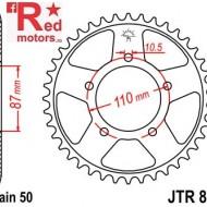 Foaie/pinion spate JTR829.45 530 cu 45 de dinti pentru Suzuki GSF 600