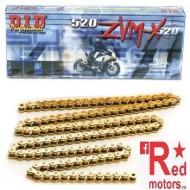 Lant de curse DID GOLD Race 520 ZVM-X cu 116 zale
