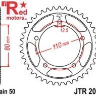 Foaie/pinion spate JTR2010.40 530 cu 40 de dinti pentru Triumph Adventurer 900, Daytona 900, Sprint 900