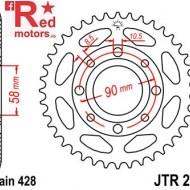 Foaie/pinion spate JTR269.36 428 cu 36 de dinti Daelim