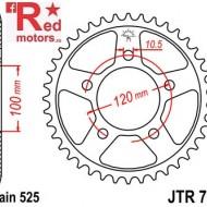 Foaie/pinion spate JTR702.42 525 cu 42 de dinti pentru Aprilia Caponord 1200, Dorsoduro 750, 1200