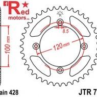 Foaie/pinion spate JTR798.52 428 cu 52 de dinti pentru Suzuki RM 80. RM 85