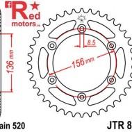 Foaie/pinion spate JTR822.43 520 cu 43 de dinti pentru Beta RR 250, 350, 400, 450