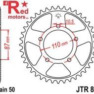 Foaie/pinion spate JTR829.46 530 cu 46 de dinti pentru Suzuki GSF 600