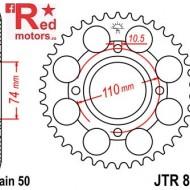 Foaie/pinion spate JTR852.41 530 cu 41 de dinti pentru Yamaha RD 250