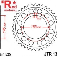 Foaie/pinion spate JTR853.45 525 cu 45 de dinti pentru Honda NT 400, NT 650