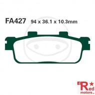 Placute frana fata CARBON SCOOTER EBC 94x36.1x10.3 FA427 pentru Daelim S3, Peugeot LXR, SYM GTS, Joymax, TGB X-Large
