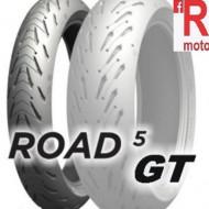 Set anvelope/cauciucuri moto Michelin Road 5 GT 120/70ZR17 58W + 190/55ZR17 75(W)