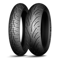 Set anvelope moto Michelin Pilot Road 4 GT 120/70/17 58W 180/55/17 73W