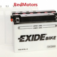 Acumulator/baterie moto Exide - Y50-N18L-A pentru Harley Davidson, Honda, Kawasaki, Moto Guzzi