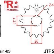 Pinion fata JTF 558 cu 13 dinti