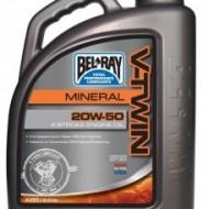 Ulei mineral de motor Bel-Ray V-Twin Mineral Engine Oil 20W-50 4L