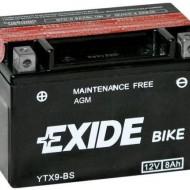 Baterie moto Exide YTX9-BS
