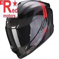 Casca moto integrala Scorpion Exo-1400 Air Carbon Drik